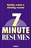 7 minute resumes:[build the perfect resume one 7-minute lesson at a time]