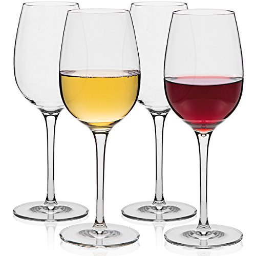 MICHLEY-Unbreakable-Wine-Glasses-100-Tritan-Shatterproof-Wine-Glasses-BPA-free-Dishwasher-safe-125-oz