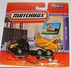 MATCHBOX JCB 726 ADT TILTING TRAILER FULLY ARTICULATED REAL WORKING RIGS