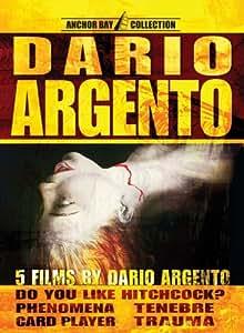 Dario Argento Box Set (Do You Like Hitchcock? / Phenomena / Tenebre / Card Player / Trauma)