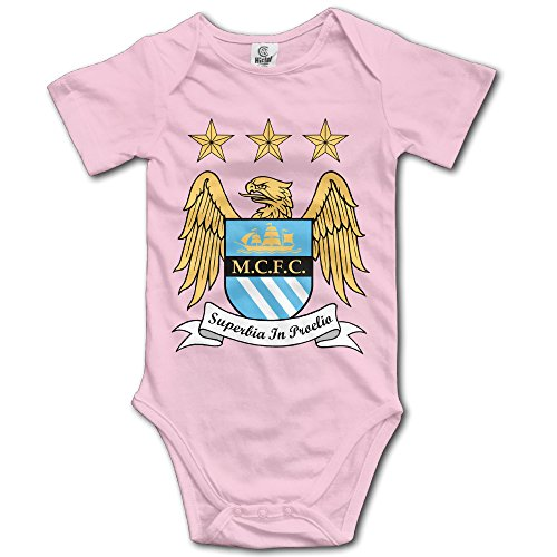 NICKY Short-Sleeve Romper Vest ToddlerManchester City Football Club Size 12 Months Pink. (Coupons For Party City 2016)