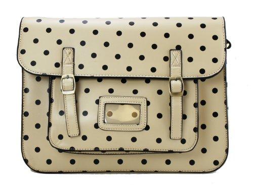 Miss Lulu Brand Vintage Designer Polka Dot Faux