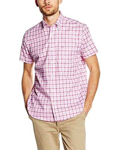 Pedro del Hierro Camisa Hombre Rosa