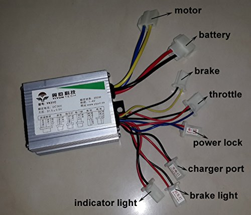 Electric Circuit Diagram For Veloteq Rangerospreylatote Ebikes By