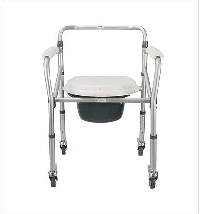 LYTSM® Sedia da doccia, Mobile pieghevole antiscivolo Bagno Uomo anziano Donna incinta Vasino igiene e comfort