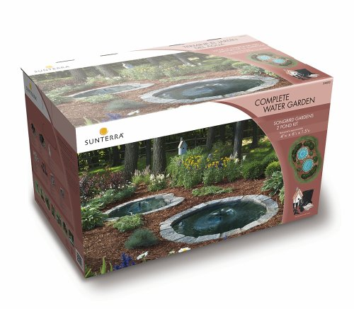 Buy Sunterra 330012 Sunterra Songbird Gardens Complete Two Pond Kit