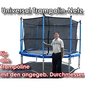universal trampolin fangnetz trampolinnetz sicherheitsnetz netz f r rundtrampoline. Black Bedroom Furniture Sets. Home Design Ideas