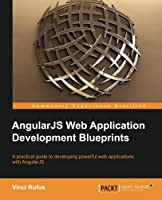 AngularJS Web Application Development Blueprints Front Cover