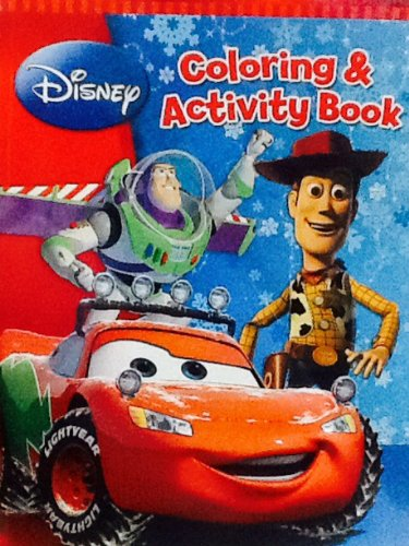 Huge Disney Pixar Cars & Toy Story Coloring & Activity Book: 280 Pages!!! Holiday Book! Christmas ! - 1