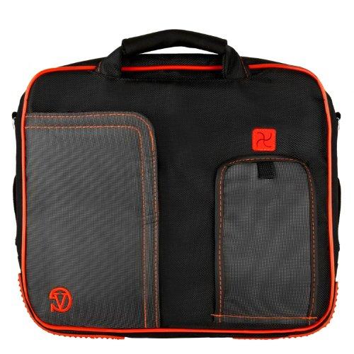 pindar-messenger-shoulder-carrying-bag-durable-case-red-trim-for-sylvania-sdvd9000b2-9-inch-portable