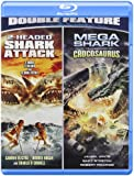 2 Headed Shark Attack/Mega Shark Vs. Crocosaurus [Blu-ray]