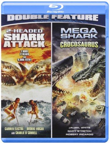 2 Headed Shark Attack/Mega Shark Vs. Crocosaurus [Reino Unido] [Blu-ray]