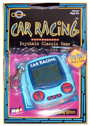 Car Racing, Keychain Classic Game, Mga Entertainment, 1999