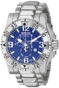 Invicta Men's 15295 Excursion Analog Display Swiss Quartz Silver Watch