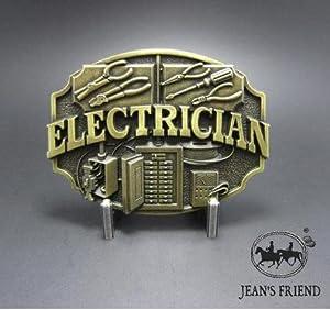 Vintage Harley Electrician Logo