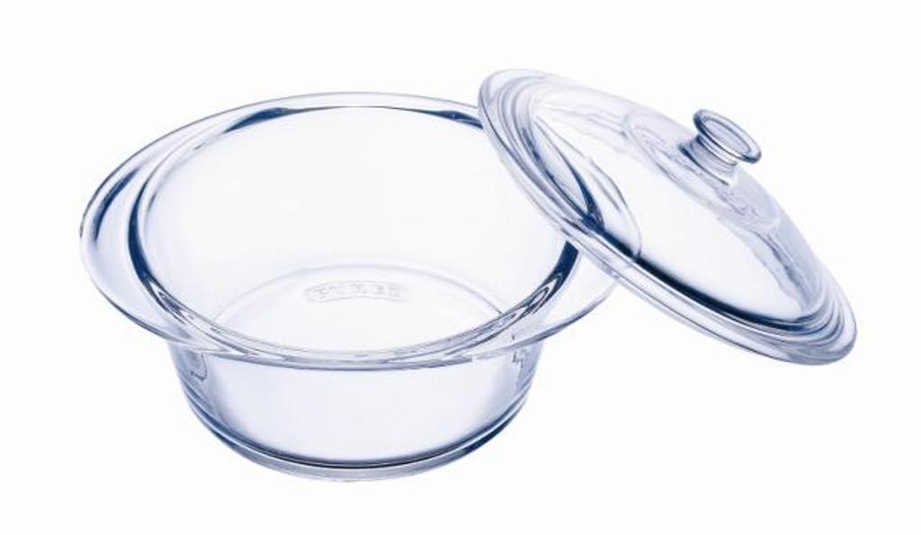 Pyrex 891A000/5040 - Cacerola redonda con tapa (13 x 10 cm)   Comentarios y más información