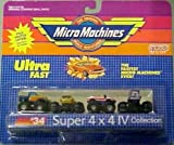 Micro Machines Super 4x4 IV #34 Collection