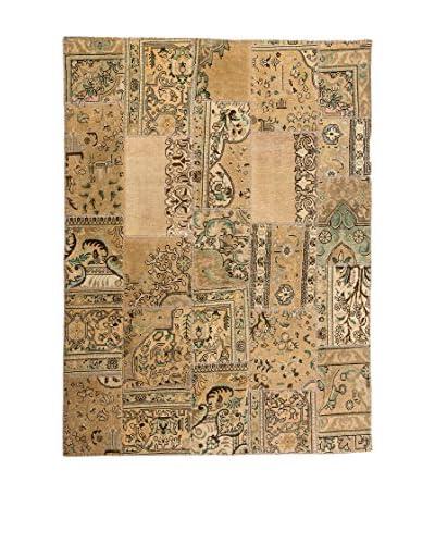 Navaei & Co Tappeto Orientale Annodato a Mano Vintage Patchwork