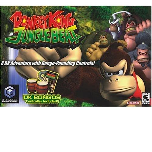 Donkey Kong Jungle Beat With Bongos - Gamecube
