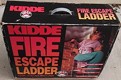 Kidde Fire Escape Ladder 2-story, 15 Foot Steel Escape Ladder