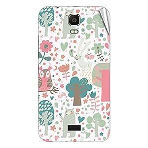 Garmor Designer Mobile Skin Sticker For Huawei Ascend P1 - Mobile Sticker