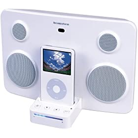 ROCKRIDGE SOUND iPod�X�s�[�J�[ �z���C�g ist01 W