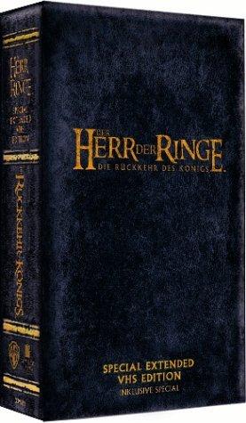 Der Herr der Ringe - Die Rückkehr des Königs (Special Extended Edition) [VHS]