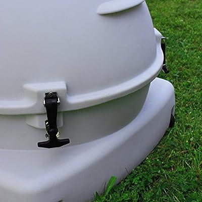 Good Ideas QCOOP-BEG Quad Chicken Coop, Beige
