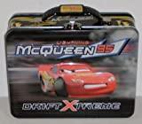 Disney Pixar Cars Lightning McQueen Embossed Metal Lunch Box
