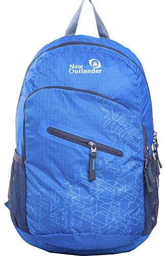 Outlander Packable Handy Lightweight Travel Hiking Backpack Daypack-light Blue