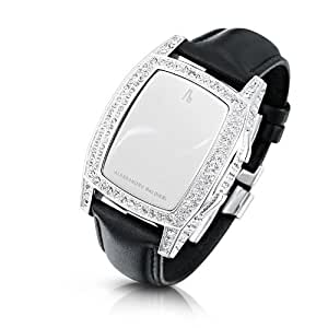 Alessandro Baldieri Ladies Limited Edition Watch End of Time Swarovski Clear/Black AB0041SW-CLR-BLA