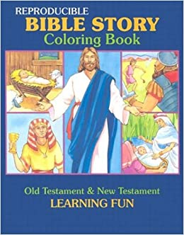 Amazon Bible Story Coloring Book Reproducible