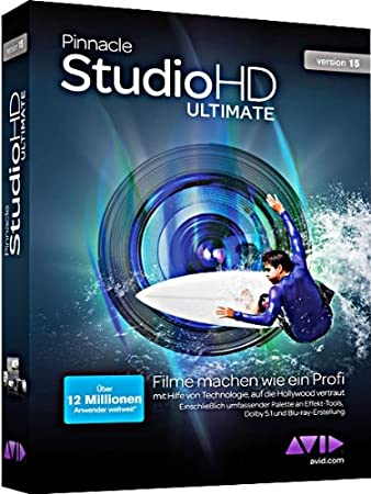 Pinnacle Studio Ultimate 15