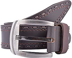 Western Lifestyles Men's Belt (WBL009, Brown, Medium)