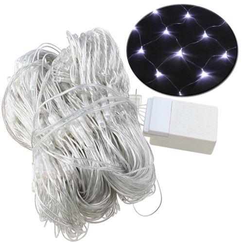Agptek® 300 Led Net Mesh Fairy String Light Christmas Lights Lighting Party Wedding Xmas Tree-Wrap (Cool White)