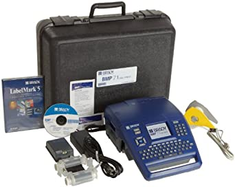 Brady BMP71 Label Printer with LabelMark Software and USB Connectivity