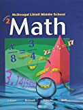 McDougal Littell Middle School Math, Course 2: Student Edition © 2005 2005