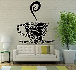 art mural design interior cafe dining room kitchen coffee shop decor