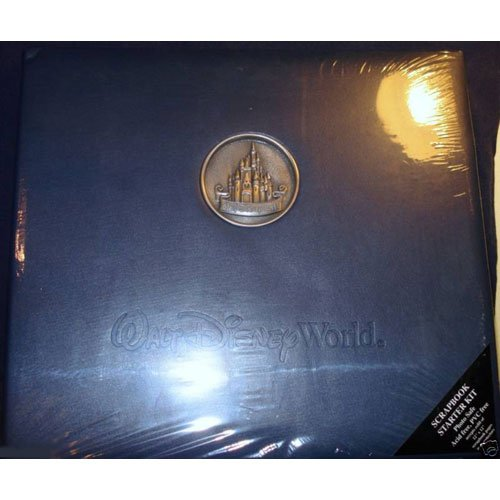 Walt Disney World Castle Medallion Scrapbook Kit