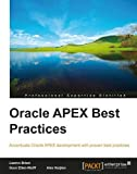 Oracle APEX Best Practices