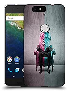 Snoogg Lion King Designer Protective Back Case Cover For Huawei Nexus 6P