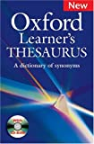 Oxford Learners Thesaurus: A Dictionary of Synonyms