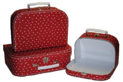 3 tlg. Set Kinderkoffer Groß/ MITTEL / KLEIN