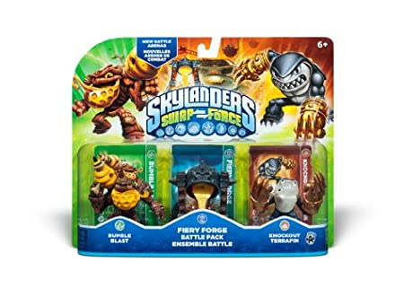 Activision Skylanders SWAP Force Fiery Forge Battle Pack