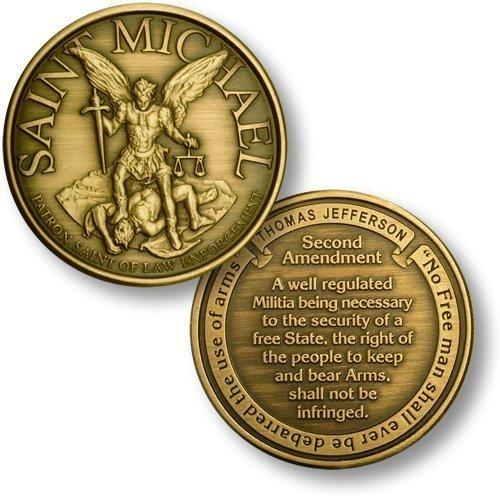 St. Michael - Second Amendment - Bronze Antique