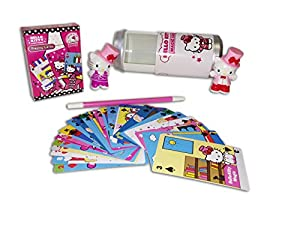 Hello Kitty Magic Can Trick Set with Wand and Collectible Figurine