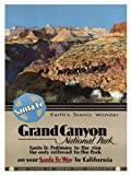 TRAVEL TOURISM GRAND CANYON NATIONAL PARK USA FINE ART PRINT POSTER 30X40 CM 12X16 IN BB8425B