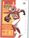 2012 Panini Contenders Playoff Season Ticket # 49 Dwayne Bowe - Kansas City Chiefs (NFL Football Trading Card) at Amazon.com