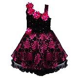 #10: Wish Karo baby girls Party Wear Frock Dress DN fe1102pnk