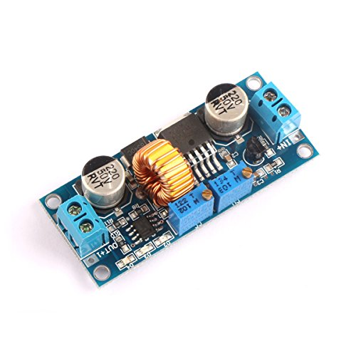 DROK® DC-DC Step-down Constant Current & Voltage Converter 4-38V to 1.25-36V 12V/24V Buck Voltage Regulator 5A 75W High Power LED Constant Current Driver Module for Lithium Battery Electromobile Charging (Lithium Charger Module compare prices)